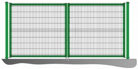 Ворота распашные Fensys PROM 1500х6000